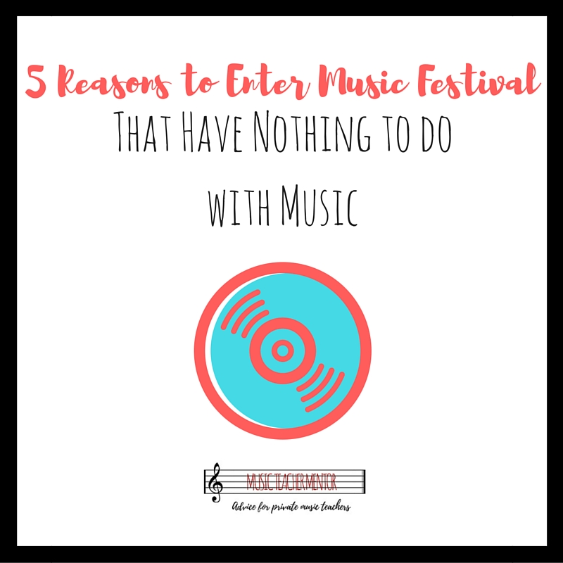 5 Reasons to Enter Music Festival